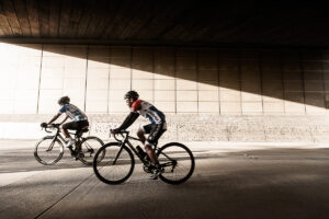 Cycling event in Brisbane to gold coast
